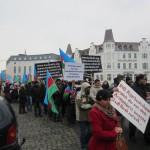 1918Unsere Demonstration gegen Völkermord und für Berg-Karabach im Jahr 2013.
