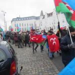1921Unsere Demonstration gegen Völkermord und für Berg-Karabach im Jahr 2013.