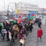 1939Unsere Demonstration gegen Völkermord und für Berg-Karabach im Jahr 2013.