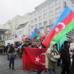 1945Unsere Demonstration gegen Völkermord und für Berg-Karabach im Jahr 2013.