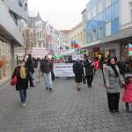 1952Unsere Demonstration gegen Völkermord und für Berg-Karabach im Jahr 2013.