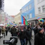 1955Unsere Demonstration gegen Völkermord und für Berg-Karabach im Jahr 2013.