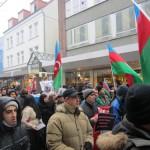 1961Unsere Demonstration gegen Völkermord und für Berg-Karabach im Jahr 2013.