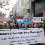 1984Unsere Demonstration gegen Völkermord und für Berg-Karabach im Jahr 2013.